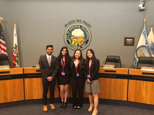 Youth in Government Day for the City of Anaheim