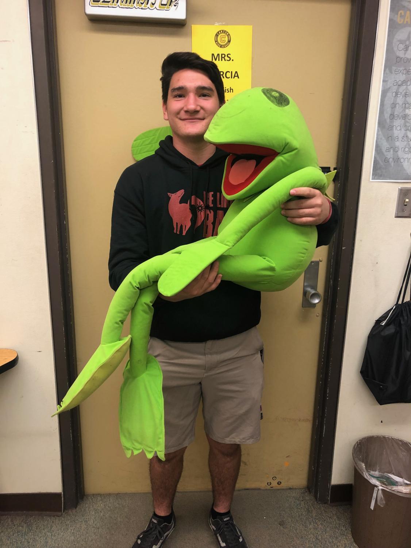 Moe Bradley and Kermit