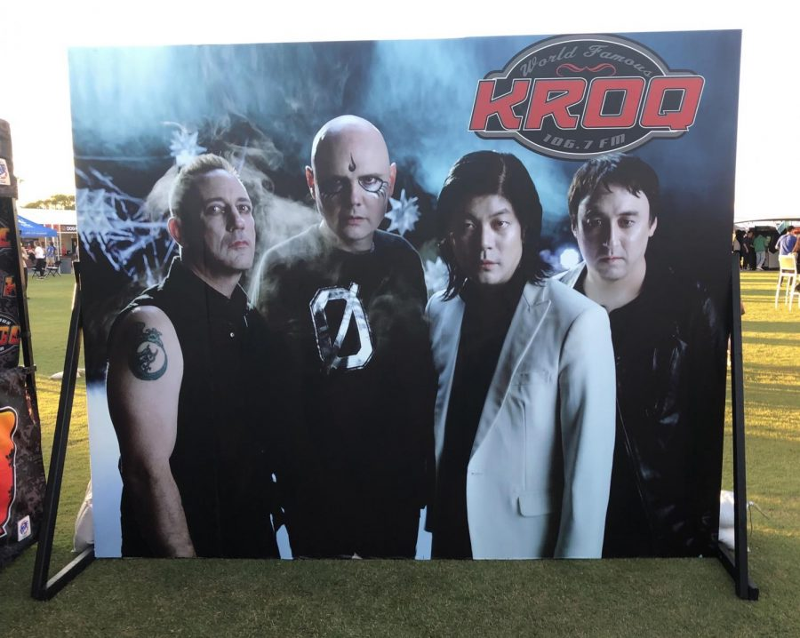 Photo opportunity presented by 106.7 KROQ of The Smashing Pumpkins