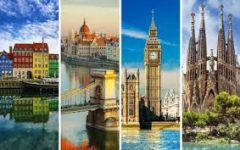 Top 5 European Cities to Visit One Day