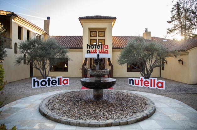 Napa Valley Private Mansion Temporarily Converted into 'Hotella Nutella' as a Grand Prize