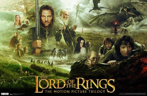 The Lord of the Rings Motion Picture Trilogy Poster.