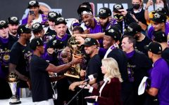 The Los Angeles Lakers won Game 6 of the Finals against the Miami Heat on October 11.