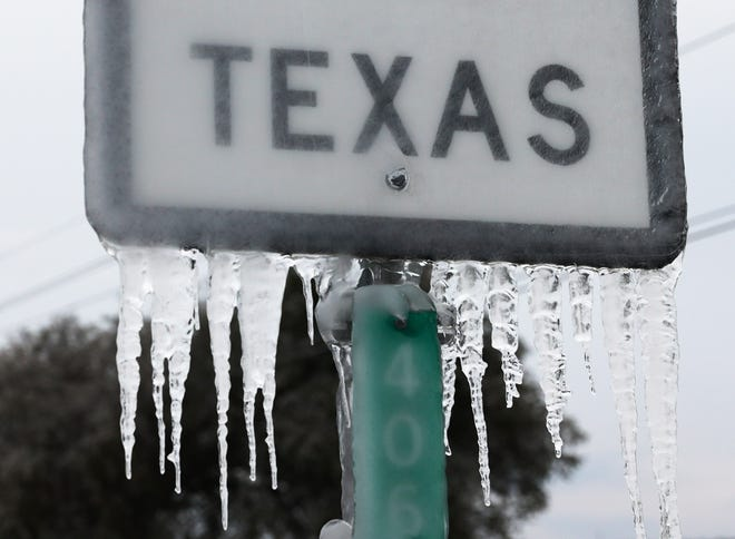 Winter Storms Ravage Texas
