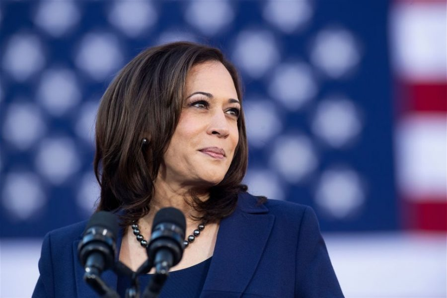 Kamala Harris made history as the first African-American and South Asian woman to become Vice President of the United States (Courtesy of U.S. News and World Report).