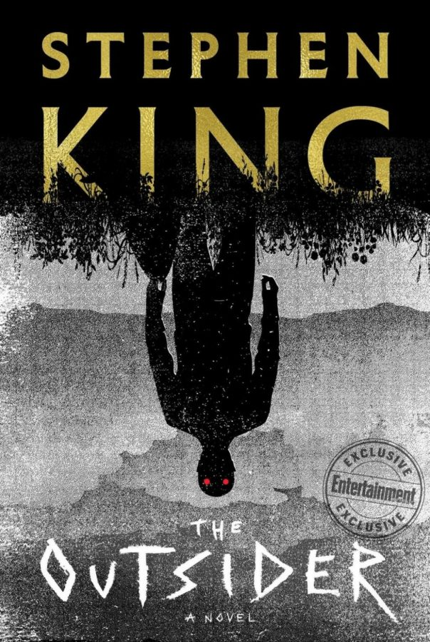 "The cover of ""The Outsider"" by Stephen King."
