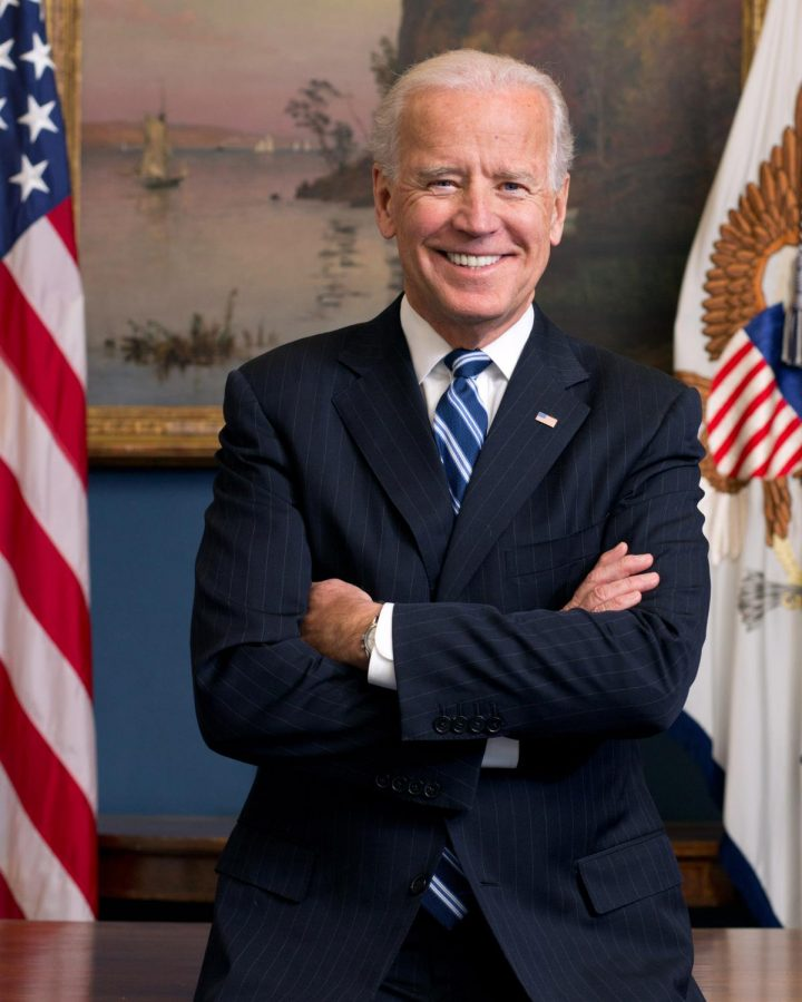 A picture of Joe Biden, the 46th President of the United States.
