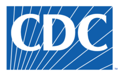 The Centers for Disease Control and Prevention (CDC) logo.
